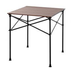 Πτυσσόμενο Τραπέζι Αλουμινίου με Τσάντα Μεταφοράς 70 x 70 x 70 cm Outsunny 84Β-403