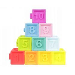 Σετ Παιδικοί Πολύχρωμοι Κύβοι 10 τμχ SPM 11402