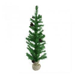 Χριστουγεννιάτικο Δέντρο 90 cm με Βάση Λινάτσα MWS17660