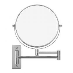 Επιτοίχιος Περιστρεφόμενος Καθρέπτης Μακιγιάζ 10x Διπλής Όψεως Songmics BBM001