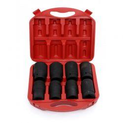 """Σετ Εξαγωνικά Καρυδάκια 1"""" 22 - 41 mm 8 τμχ Kraft&Dele KD-10216"""