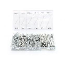 Σετ Κοπίλιες σε Πλαστική Κασετίνα 1000 τμχ Kraft&Dele KD-10509