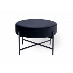 Μεταλλικό Σκαμπό 35 x 55 cm Χρώματος Μαύρο Doris Lifa-Living 8719743328839