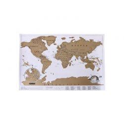 Παγκόσμιος Χάρτης Ξυστό 88 x 52 cm SPM DYN-5059059079784
