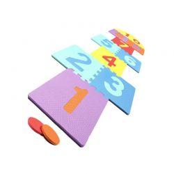 Αφρώδες Παζλ Δαπέδου Παιχνίδι Κουτσό 210 x 60 cm 12 τμχ MWS2431
