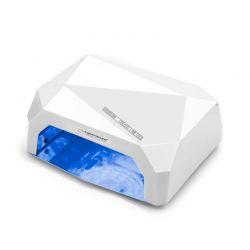Φουρνάκι Νυχιών με 12 Λάμπες UV LED και CCFL 36 W Χρώματος Λευκό Esperanza Onyx EBN002W