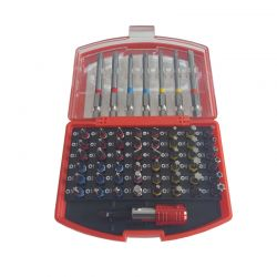 Σετ Κατσαβιδόλαμων με Χρωματική Κωδικοποίηση σε Κασετίνα 56 τμχ MAR-POL M66304