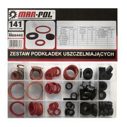 Σετ Ροδέλες Στεγανοποίησης 114 τμχ MAR-POL M66445