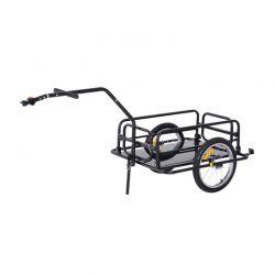 Αναδιπλούμενο Τρέιλερ Ποδηλάτου για Φορτία από Ατσάλι 156 x 72 x 82 cm HOMCOM B71-020