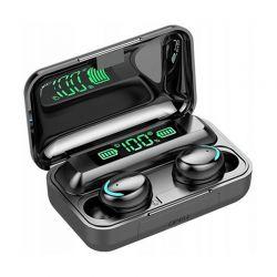 Ασύρματα Ακουστικά Bluetooth με Βάση Φόρτισης TWS BT SPM F9+5c