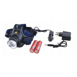 Επαναφορτιζόμενος Φακός Κεφαλής 800 lm LED CREE T6 Bass Polska BP-3923