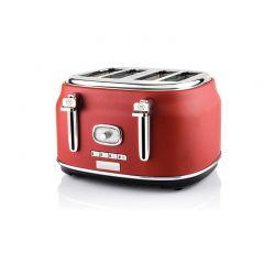 Φρυγανιέρα 4 Θέσεων 1750 W Χρώματος Κόκκινο Westinghouse WKTTB809RD