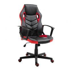 Καρέκλα Γραφείου 62 x 59 x 105-117 cm Χρώματος Κόκκινο Vinsetto 921-363RD