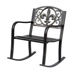 Μεταλλική Κουνιστή Καρέκλα 60 x 73 x 85 cm Outsunny 84A-067