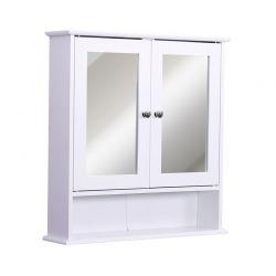 Καθρέπτης Μπάνιου με Ντουλάπι 56 x 13 x 58 cm Kleankin 834-182