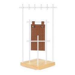 Μεταλλικό Σταντ Κοσμημάτων 15.5 x 15.5 x 37.5 cm Songmics JJS07NW