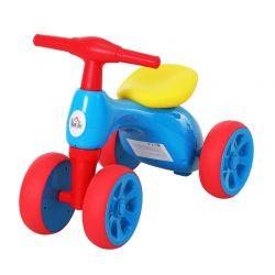 Παιδικό Ποδήλατο Ισορροπίας με 4 Ρόδες Χρώματος Μπλε HOMCOM 370-088BU