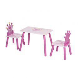 Παιδικό Σετ με Τραπέζι και 2 Καρέκλες HOMCOM 312-015