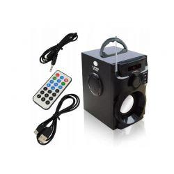 Φορητό Ηχείο Bluetooth με Ραδιόφωνο FM MP3 Subwoofer και Τηλεχειριστήριο 30 W X-BASS 2400 Bass Polska BP-5944
