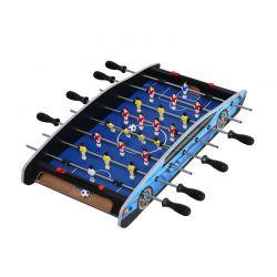 Ξύλινο Επιτραπέζιο Ποδοσφαιράκι με 8 Σειρές 36.1 x 74.5 x 12 cm HOMCOM A70-055V01