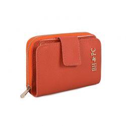 Γυναικείο Πορτοφόλι Χρώματος Πορτοκαλί Beverly Hills Polo Club 1507 668BHP0556