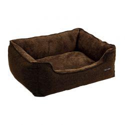 Κρεβάτι Σκύλου 70 x 55 x 21 cm Χρώματος Καφέ Feandrea PGW10CC
